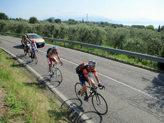 *フラットな絶景サイクリングコースは観戦前に丁度よい