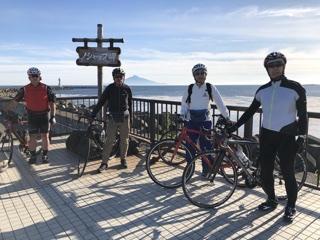 ノシャップ岬での記念ショット